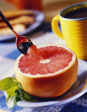 Красный грейпфрут для похудения