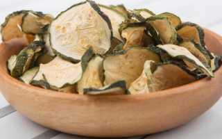Как заготовить сушеные кабачки