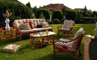 8 советов по выбору мебели для дачи и сада