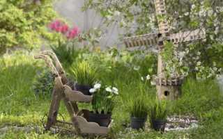 Садовые украшения ручной работы – 90 красивых идей (фото)
