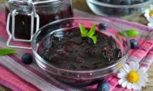 Пятиминутное варенье из черники: рецепты на зиму, как приготовить, приготовление
