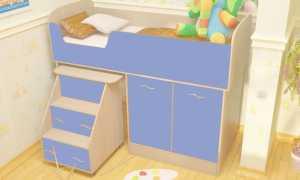 Как правильно выбрать кровать для ребенка 3 лет