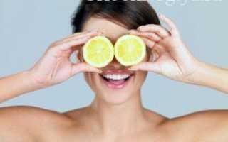 Как применять лимон для лечения грибка ногтей