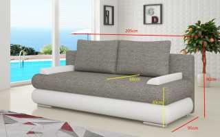Разновидности диванов: классификация и выбор