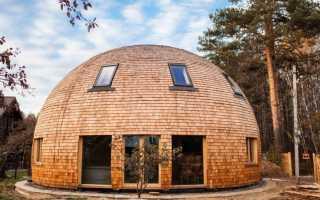 Как правильно построить купольный дом