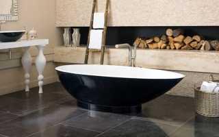 Как выбрать ванну из искусственного камня