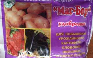 Удобрение; Маг Бор: состав, применение для помидоров и огурцов